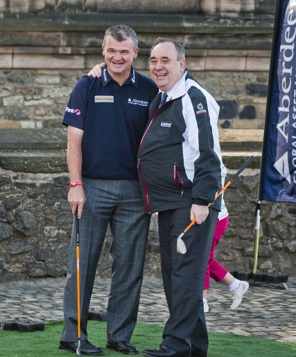 Salmond Welcomes £100,000 Boost For New Golf Event