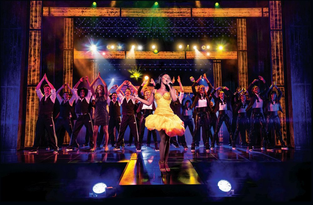 Alexandra Burke in The Bodyguard (Photograph of West End production) - 6066 - photo by Paul Coltas-1