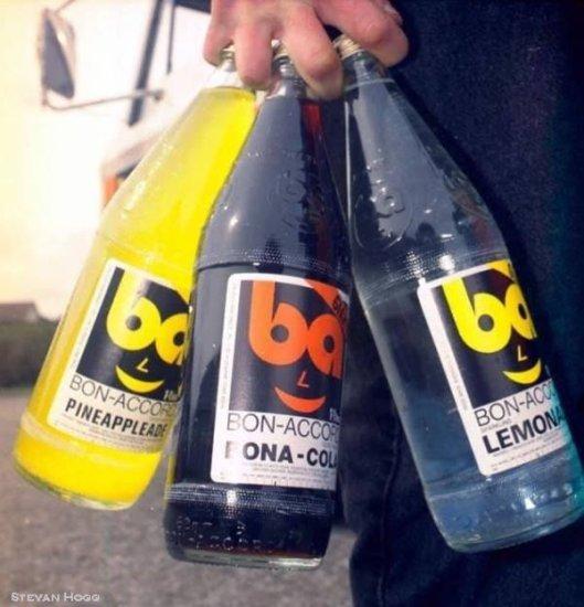 Bon Accord Lemonade Bottles by Stevan Hogg
