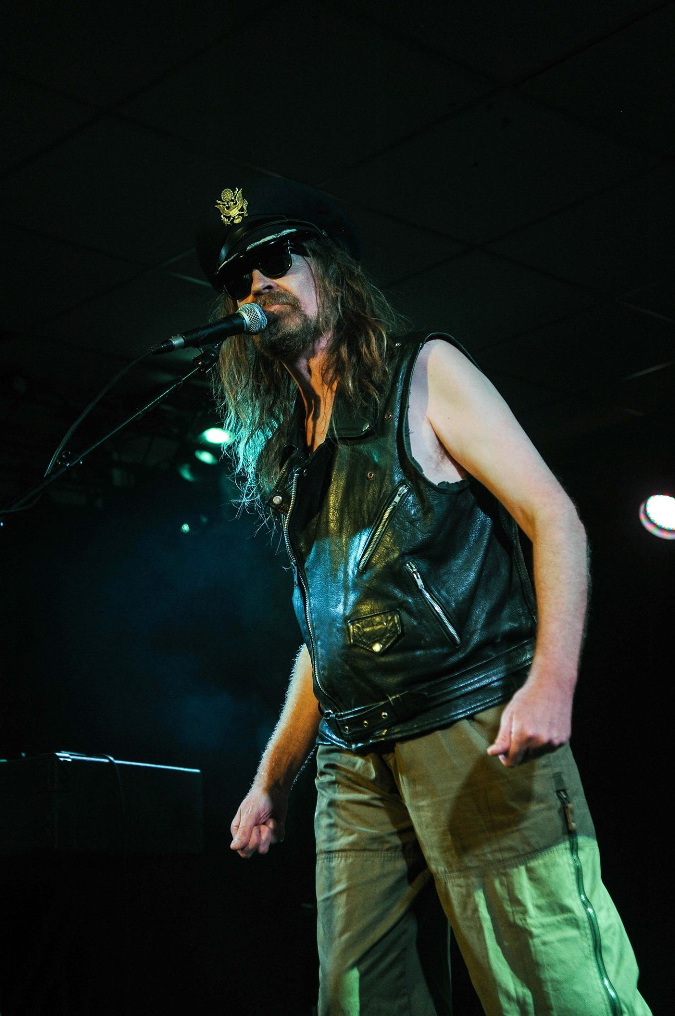 Julian Cope at the Lemon Tree May 2015 by Dod Morrison