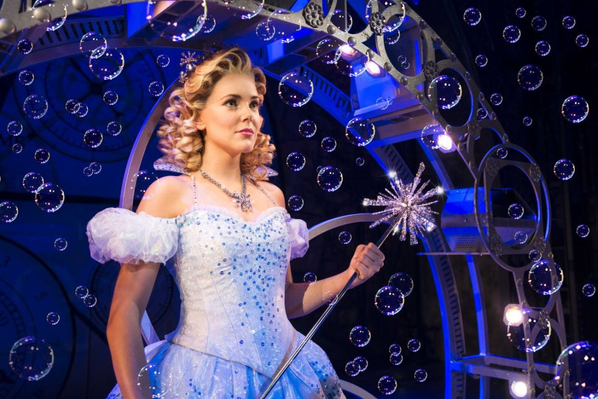 Wicked UK Tour Emily Tierney (Glinda). Photo by Matt Crockett