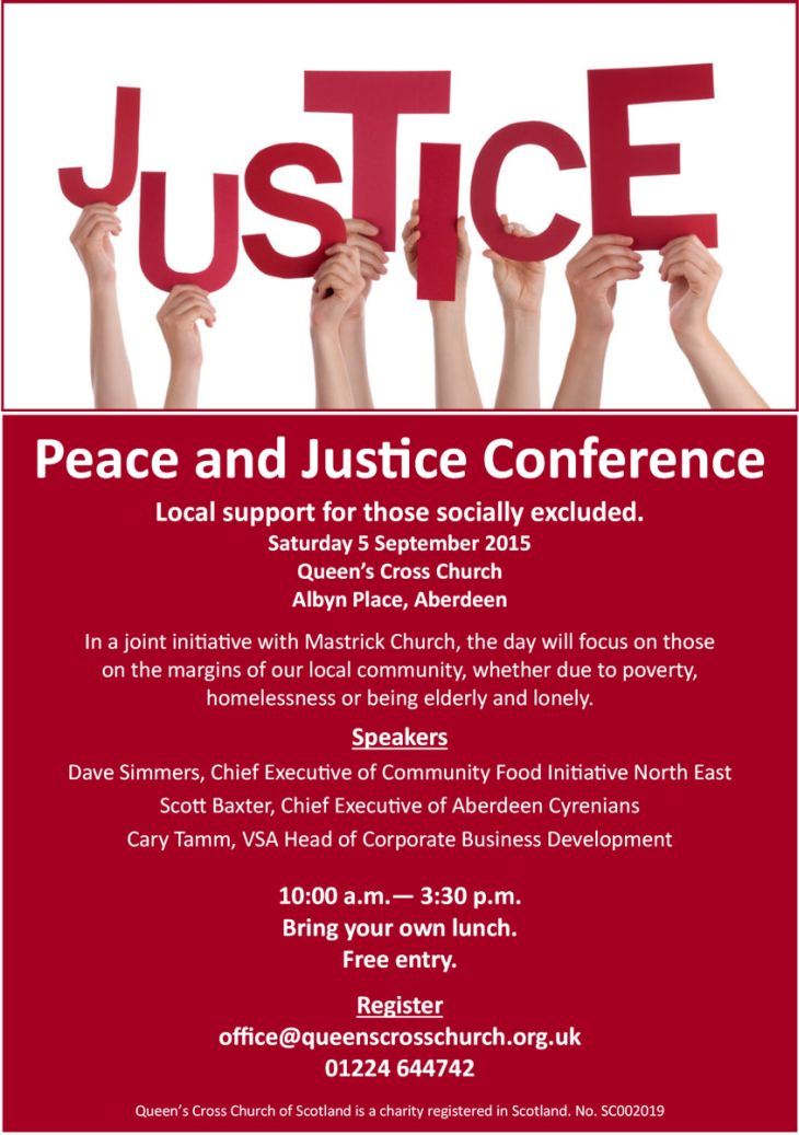 Peace & Justice Day Conference
