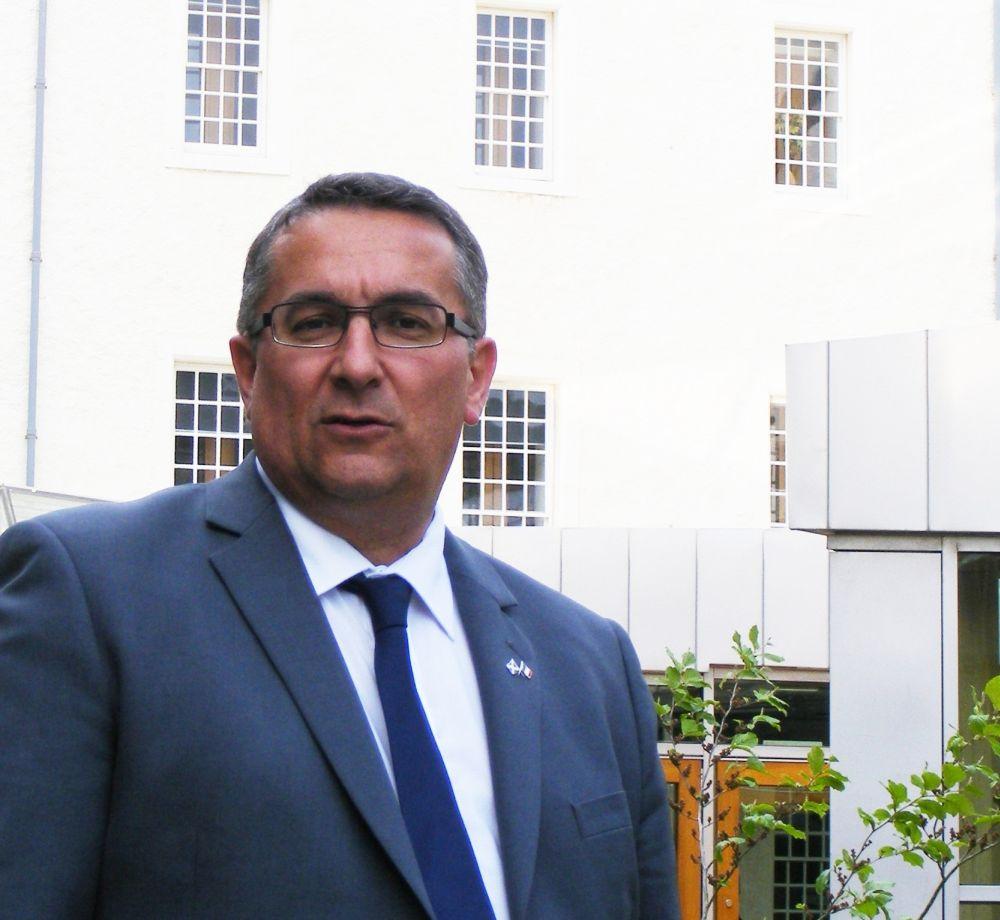 Christian Allard MSP at the Scottish Parliament