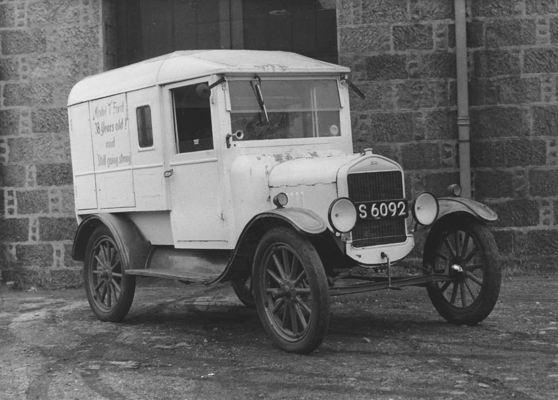Model T Ford 38 Years