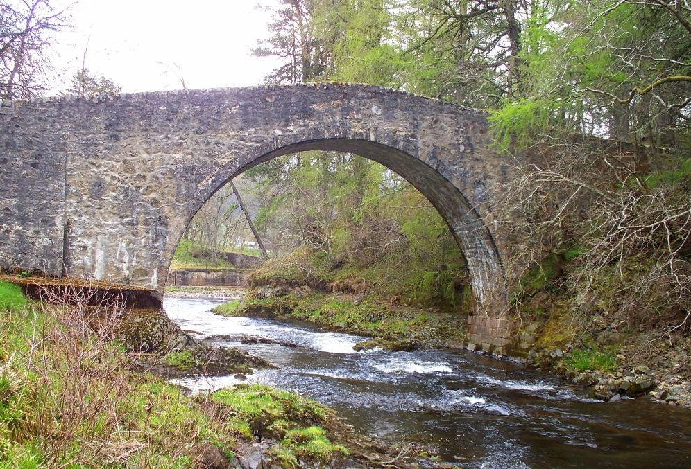 Poldullie Bridge - Tercentenary of Strathdon landmark celebrated2