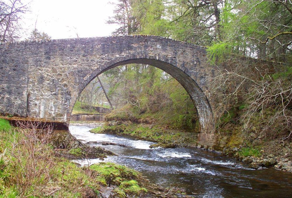 Poldullie Bridge - Tercentenary of Strathdon landmark celebrated2