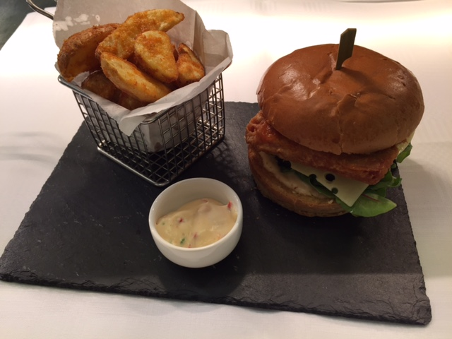 Spitfire burger