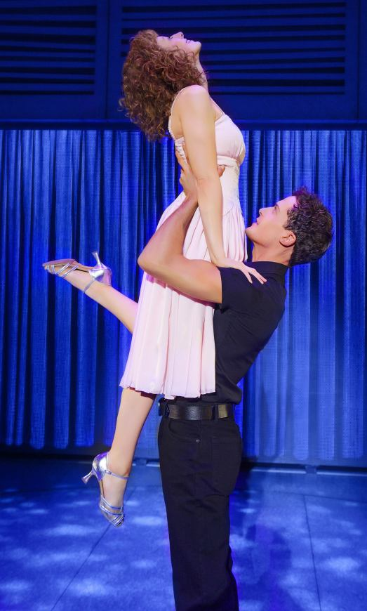 Dirty Dancing UK tour - Jessie Hart as 'Baby' & Lewis Kirk as 'Johnny' - © Tristram Kenton