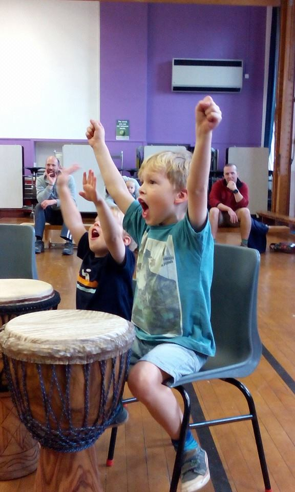 Druminaboot workshop - Tarland Food and Music Day