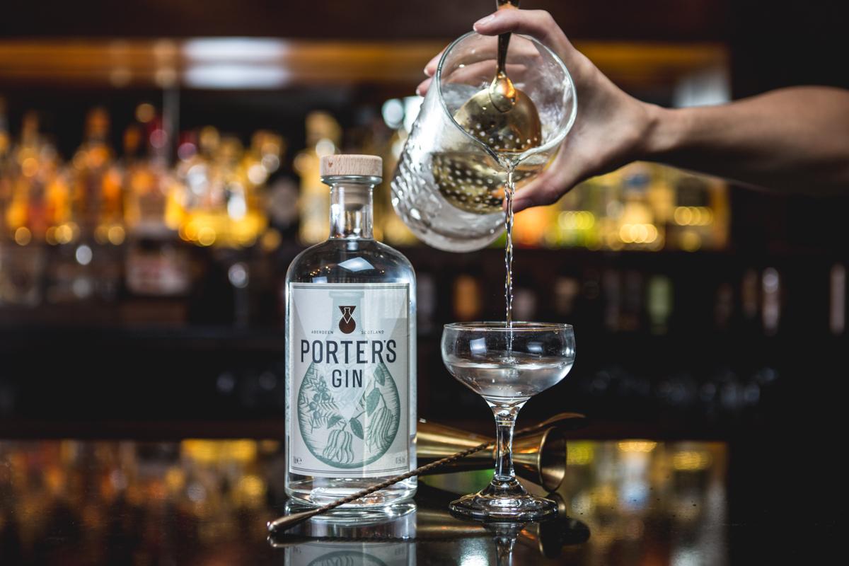 Porter's bottle
