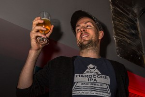 james makes a toast at brewdog castlegate nov 15