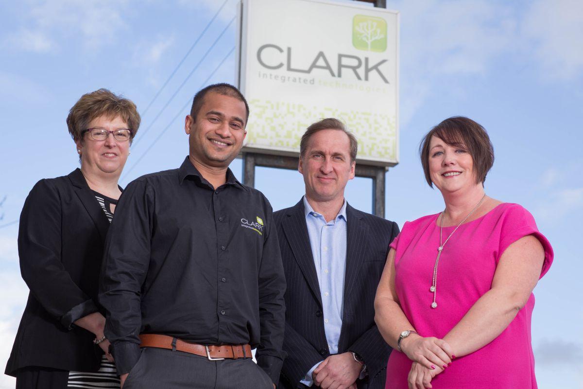 Aberdeen, Tuesday, 24th March 2015 Clark Integrated Technologies, Auchterless, Turriff, Aberdeenshire, AB53 8EP (Picture by Michal Wachucik/Newsline Media Ltd)