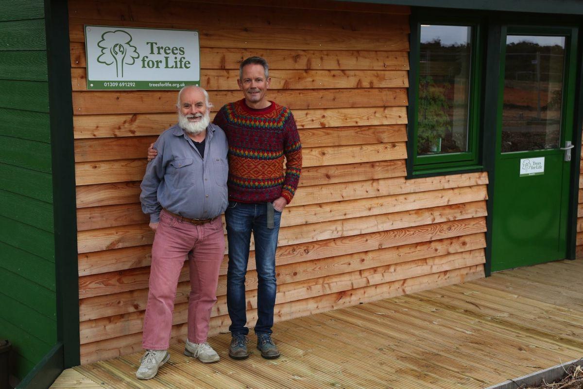 Alan and Steve hires landscape medium