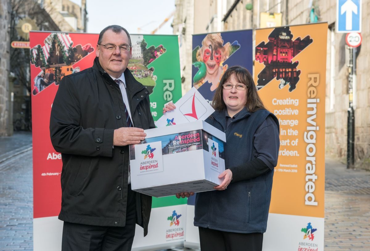 Aberdeen Inspired renewal ballot