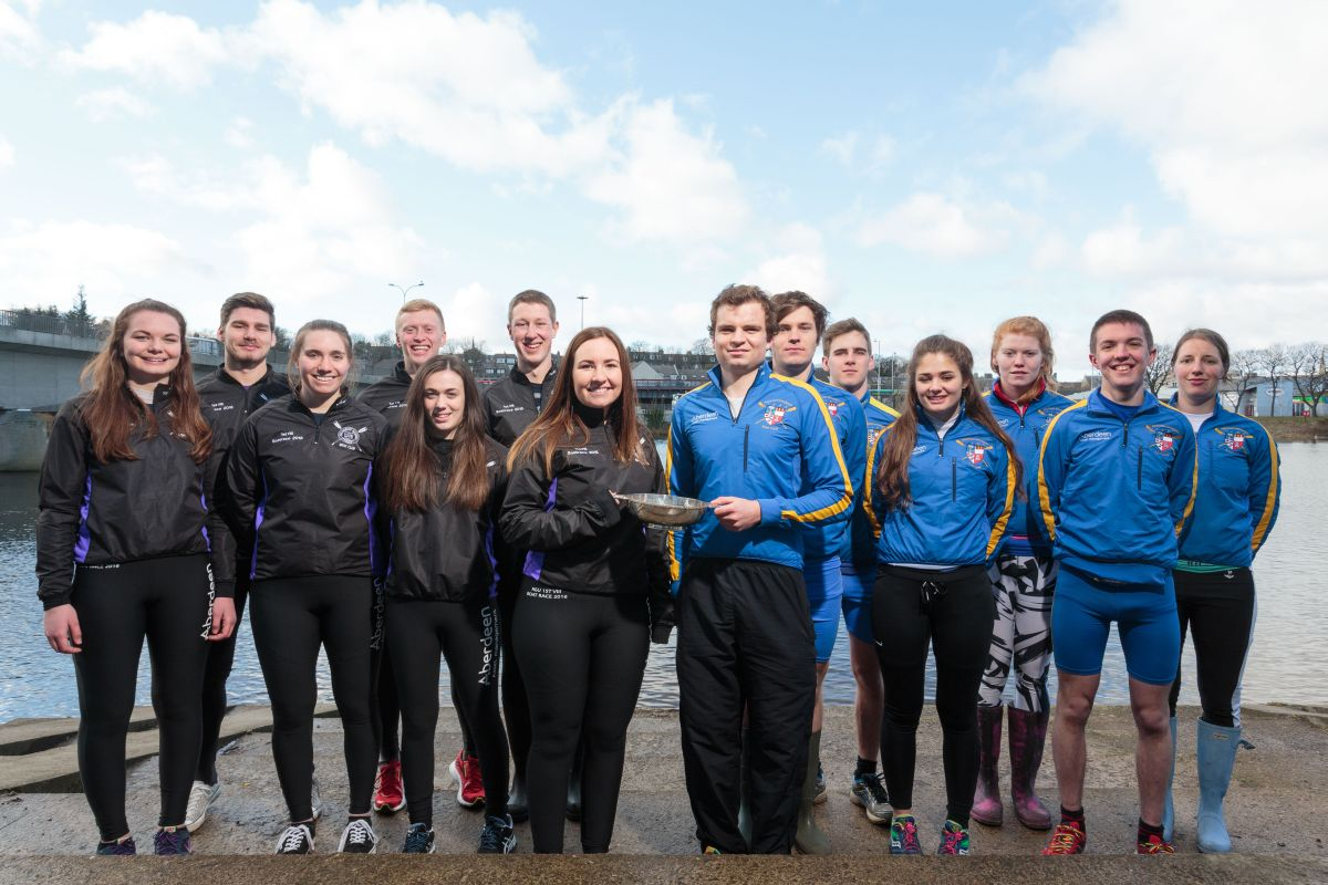 Wednesday 24th February 2016, Aberdeen, Scotland. Aberdeen Universities Boat Race.