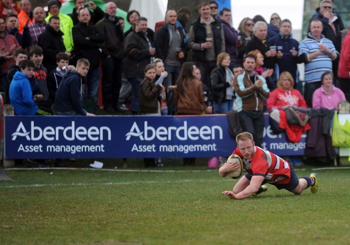 Melrose Sevens, The Greenyards, Melrose, Scotland, Saturday 14th April 2013. PLEASE CREDIT ***FOTOSPORT/DAVID GIBSON***