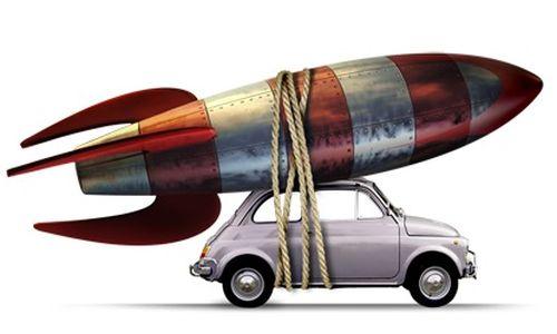 rocket-car