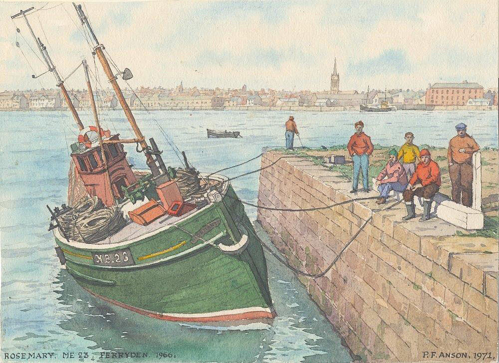 Ferryden 1966 image courtesy Moray Museums Service