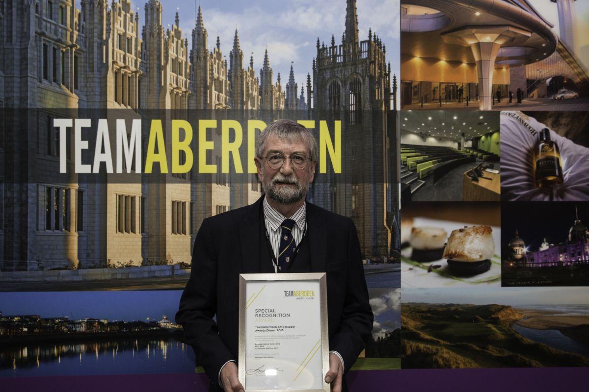 Ambassador Awards - Prof John Watson