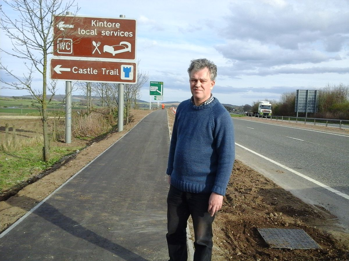Martin Ford Cycle path