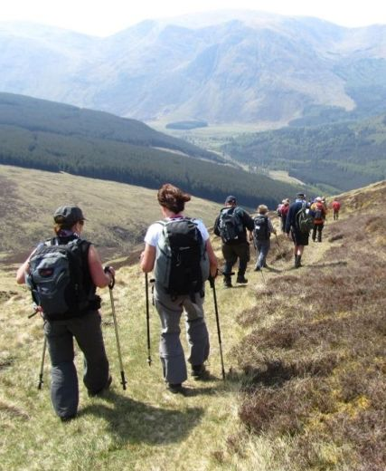 Ballater Strides Forward With Five Star Walking Events