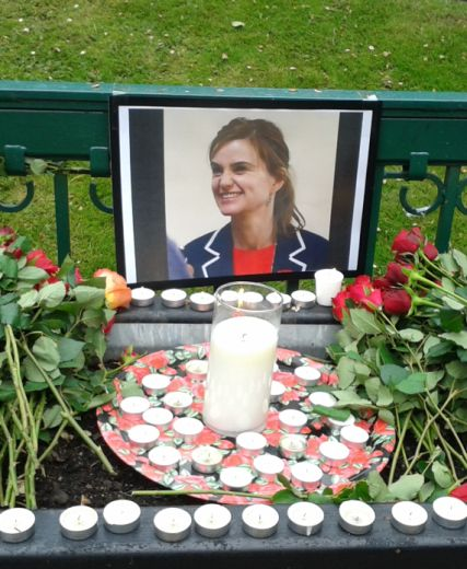 In memory Of Jo Cox MP By Dame Anne Begg