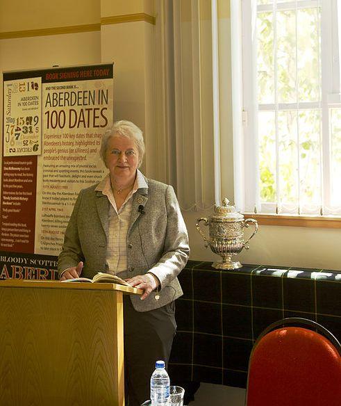 Aberdeen in 100 Dates Elma McMenemy book launch2