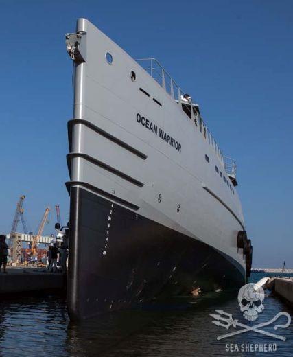 Sea Shepherd Global Launches New Patrol Vessel