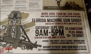 orlando ad for gun event