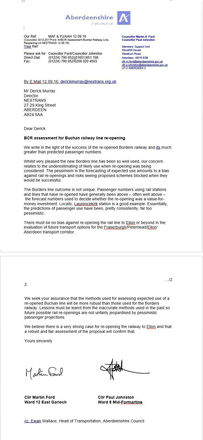 bcr-assessment-buchan-railway-line-reopening-ltr-nestrans-12-09-16