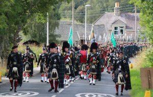 March of the Lonach Highlanders 2016