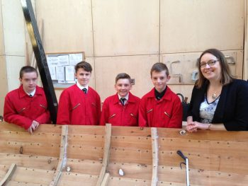 eilidh-whiteford-with-banff-academy-pupils