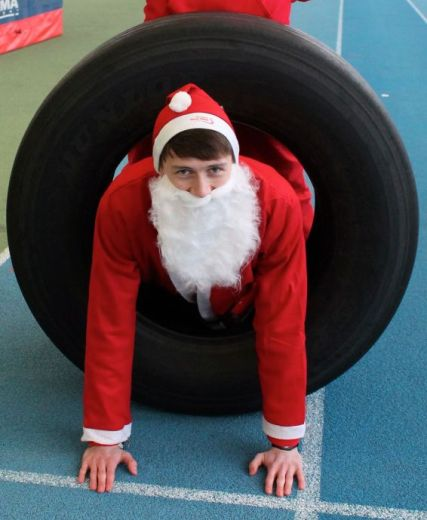 Santas On The Run To Gift Children's Charity