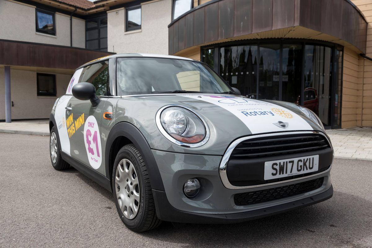 Rotary Clubs around Aberdeen and Aberdeenshire have launched a popular annual car raffle which will see one lucky winner drive away with a Mini in the New ...