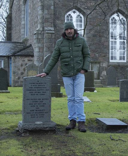 The Sculptor And The 'Last Fishwife Of Aberdeen'