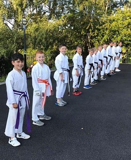 Nagasaki Schoolchildren Enjoy N.E. Cultural Visit