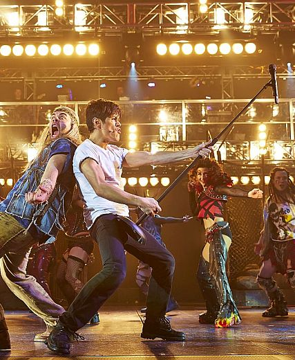 We Will Rock You @ HMT - Duncan Harley Reviews