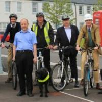 Chapelton Builders Get On Their Bikes For Charity