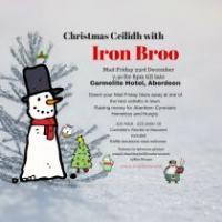 Christmas Ceilidh With Iron Broo 23.12.16