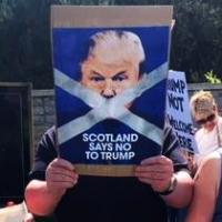 An Aberdeen Trump Protest Remembered